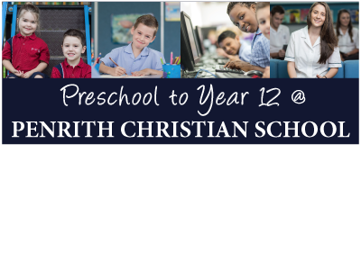Penrith Christian School - Outdoor Vinyl Banner
